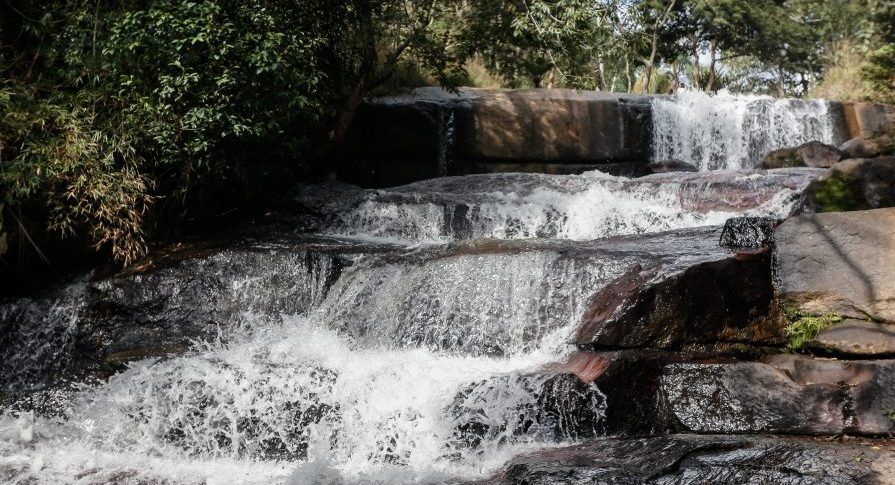 Parque Estadual Itapetinga - cachoeira