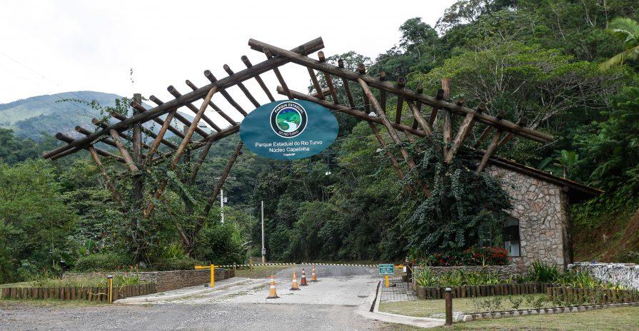 PE Rio do Turvo - Portal de entrada