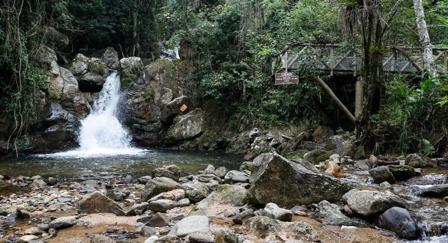 PE Rio do Turvo - Cachoeira