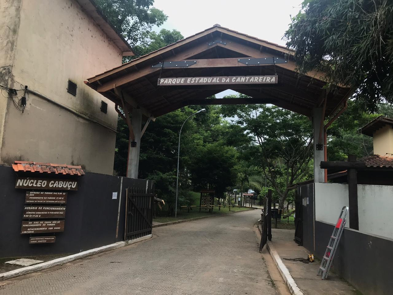 PE Cantareira Cabuçu Portal de Entrada