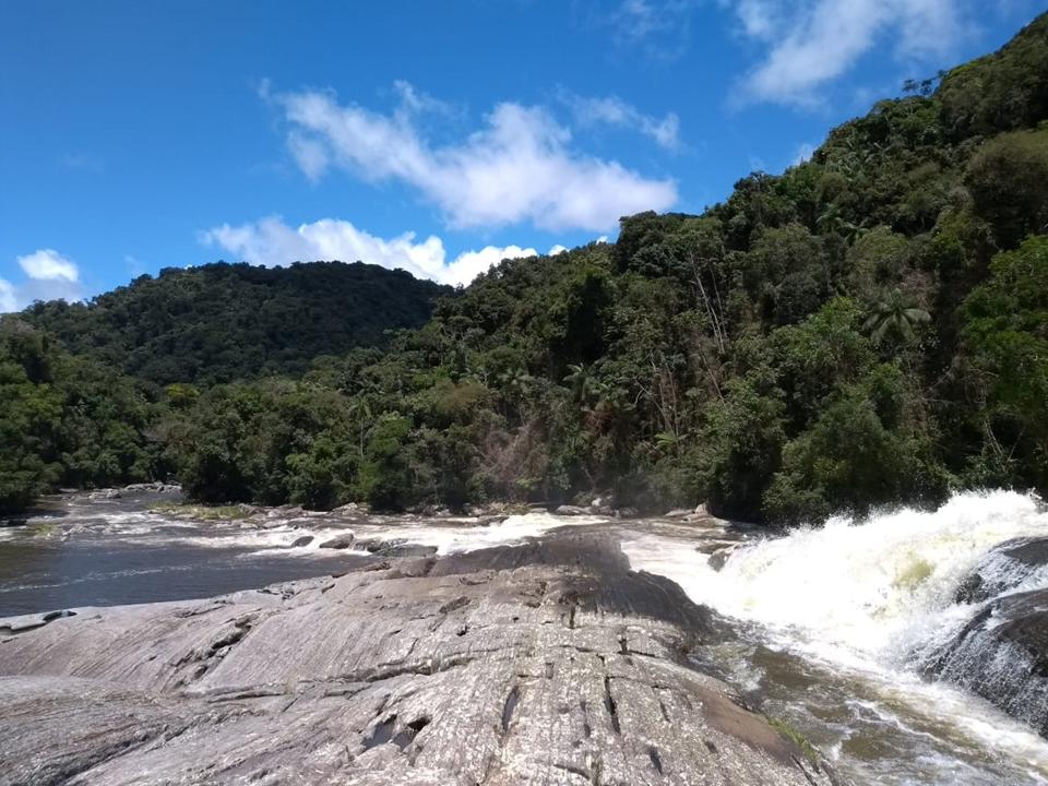 PESM Santa Virginia - atrativo - cachoeira salto grande